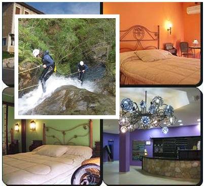 Practicar barranquismo y alojarse en hotel en Cangas de Onís