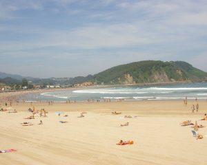 Playa de Ribadesella (Asturias)